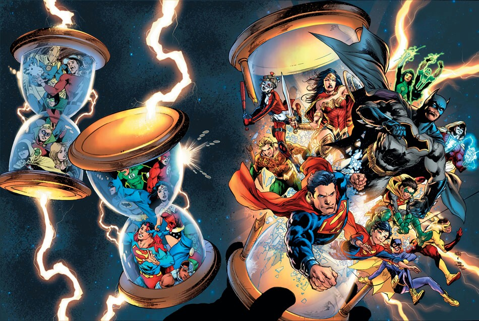 DC Universe: Rebirth Nro. 1 (mayo 2016), DC Comics.